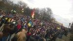 Антивоенный митинг в Одессе 9 марта 2014 - пособие по миру и дружбе.