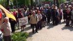 Подольцы пытались сорвать митинг в Гурьевске