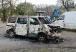 Сожгли машину Игоря Коваля, кандидата в депутаты БМР, главы Приморска