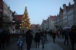Новый год в Гданьске. Небо раскромсали на куски