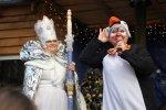 Дед Мороз поселился в Парке янтарного периода